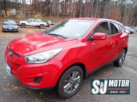 2015 Hyundai Tucson for sale at S & J Motor Co Inc. in Merrimack NH