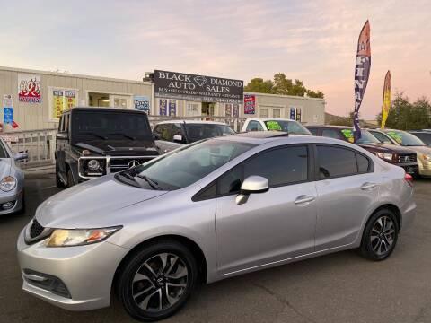 2014 Honda Civic for sale at Black Diamond Auto Sales Inc. in Rancho Cordova CA