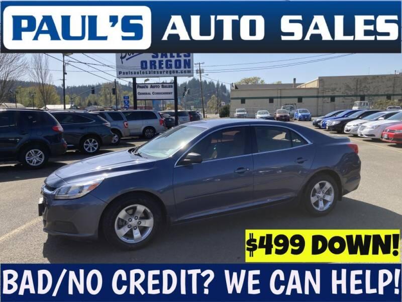 2015 Chevrolet Malibu for sale in Eugene, OR