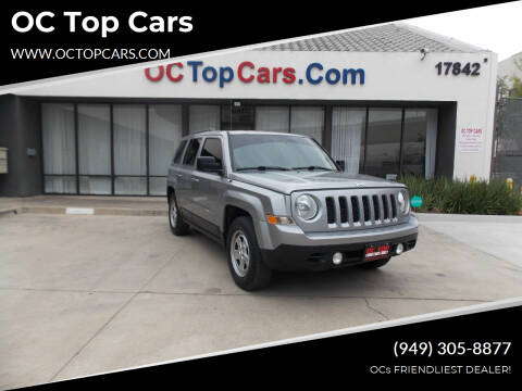 2015 Jeep Patriot for sale at OC Top Cars in Irvine CA