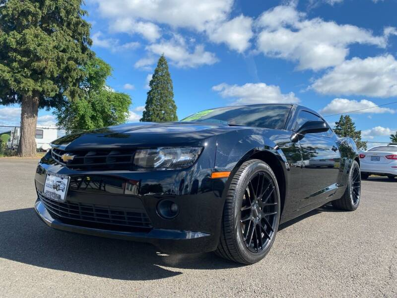 2015 Chevrolet Camaro for sale at Pacific Auto LLC in Woodburn OR