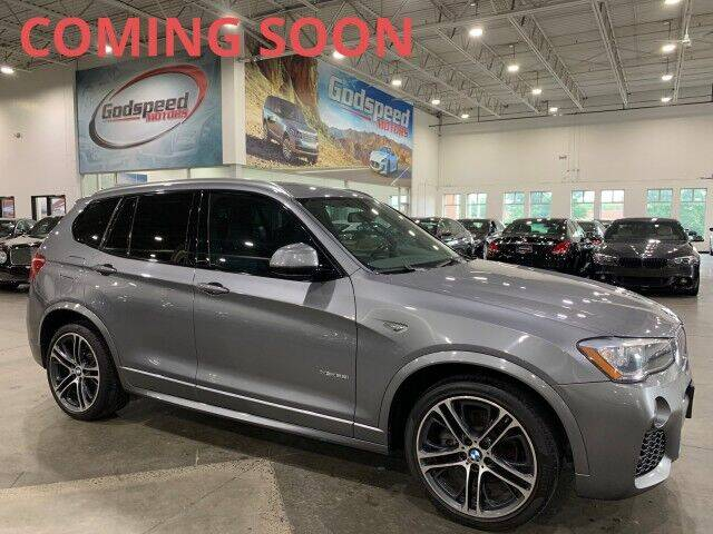 2016 BMW X3 for sale at Godspeed Motors in Charlotte NC