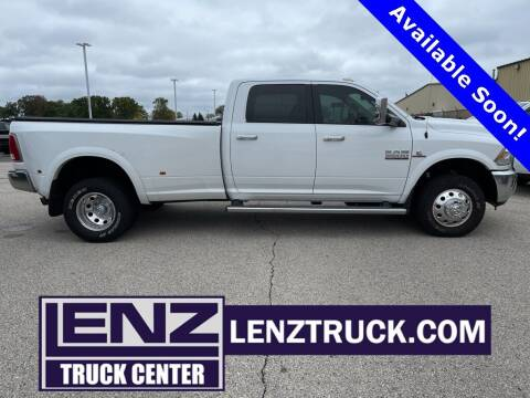 2014 RAM Ram Pickup 3500 for sale at LENZ TRUCK CENTER in Fond Du Lac WI