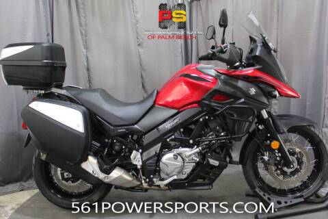2019 Suzuki V-Strom 650XT Touring for sale at Powersports of Palm Beach in Hollywood FL
