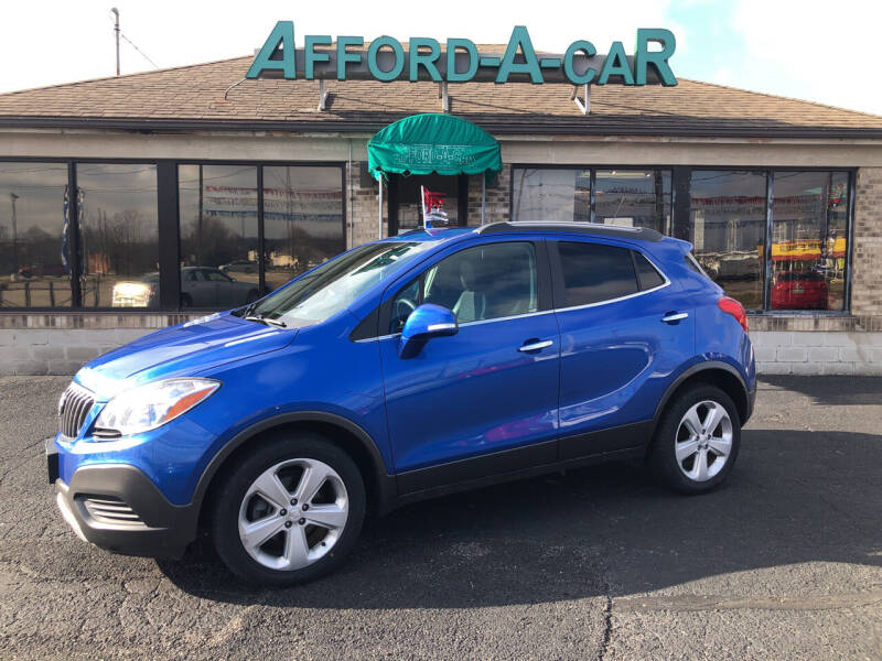 2015 Buick Encore for sale at Afford-A-Car in Moraine OH