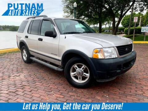 2005 Ford Explorer for sale at PUTNAM AUTO SALES INC in Marietta OH