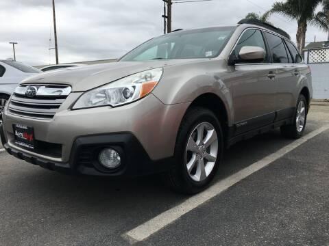2014 Subaru Outback for sale at Auto Max of Ventura in Ventura CA
