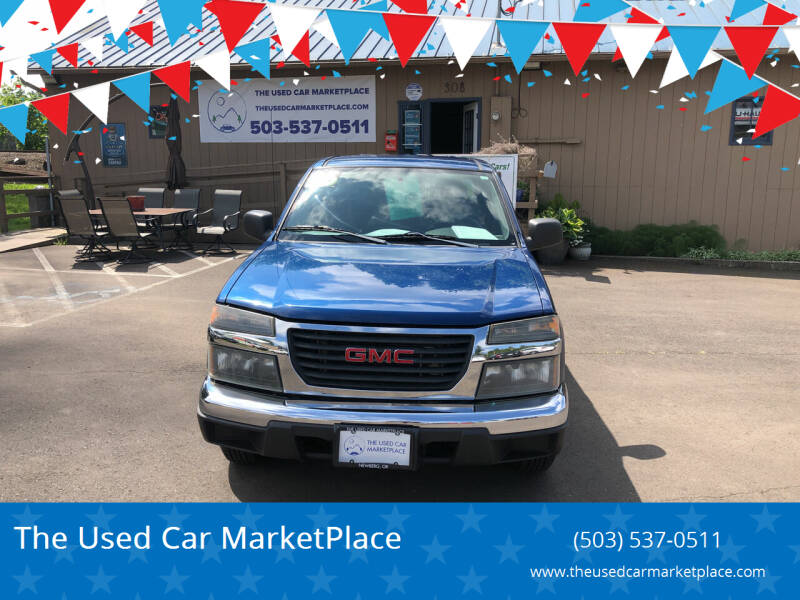 2006 GMC Canyon for sale at The Used Car MarketPlace in Newberg OR