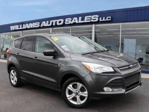 2016 Ford Escape for sale at Williams Auto Sales, LLC in Cookeville TN