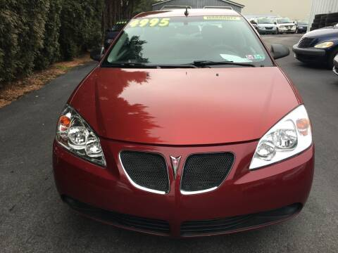 2009 Pontiac G6 for sale at BIRD'S AUTOMOTIVE & CUSTOMS in Ephrata PA