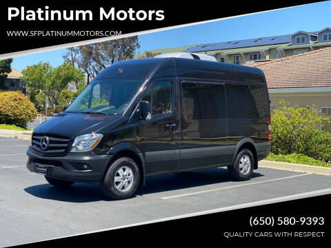 2018 Mercedes-Benz Sprinter Passenger for sale at Platinum Motors in San Bruno CA