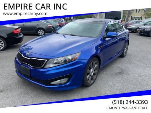 2011 Kia Optima for sale at EMPIRE CAR INC in Troy NY