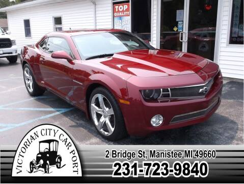 2010 Chevrolet Camaro for sale at Victorian City Car Port INC in Manistee MI