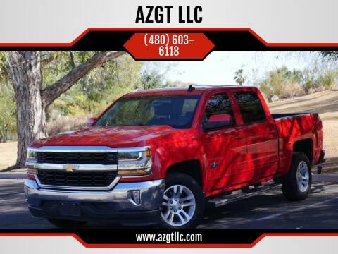 2016 Chevrolet Silverado 1500 for sale at AZGT LLC in Phoenix AZ