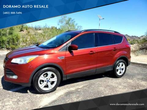 2014 Ford Escape for sale at DORAMO AUTO RESALE in Glendale AZ