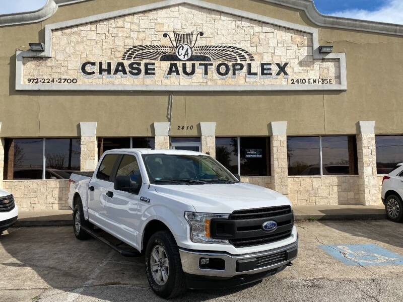2018 Ford F-150 for sale at CHASE AUTOPLEX in Lancaster TX