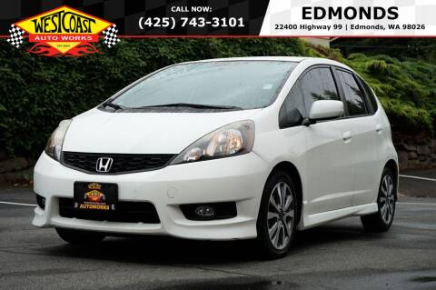 2013 Honda Fit for sale at West Coast Auto Works in Edmonds WA