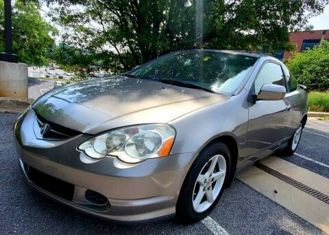 2003 Acura RSX for sale at Auto Wholesalers Of Rockville in Rockville MD