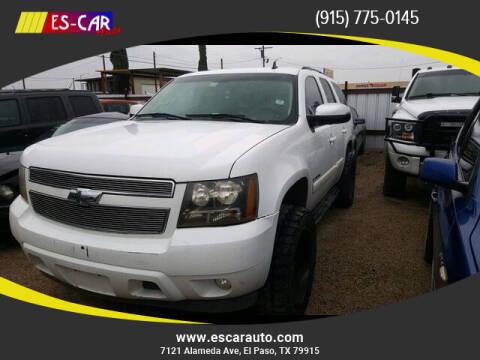 2007 Chevrolet Tahoe for sale at Escar Auto in El Paso TX