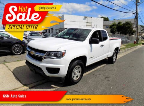 2016 Chevrolet Colorado for sale at GSM Auto Sales in Linden NJ