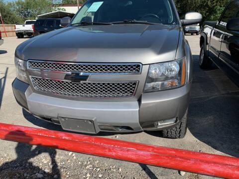 2012 Chevrolet Tahoe for sale at BULLSEYE MOTORS INC in New Braunfels TX