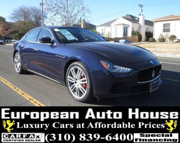 2017 Maserati Ghibli for sale at European Auto House in Los Angeles CA