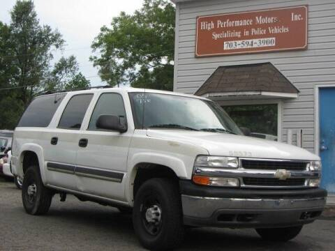 2005 Chevrolet Suburban for sale at High Performance Motors in Nokesville VA