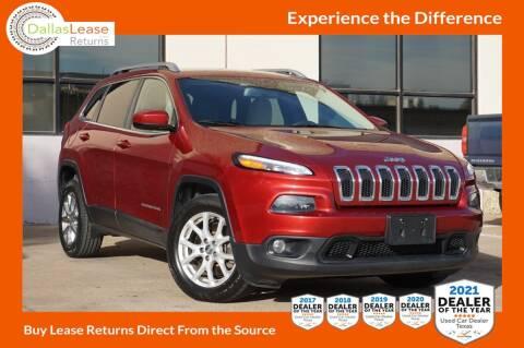 2016 Jeep Cherokee for sale at Dallas Auto Finance in Dallas TX