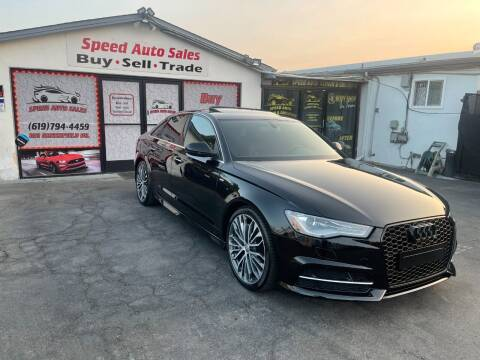 2017 Audi A6 for sale at Speed Auto Sales in El Cajon CA