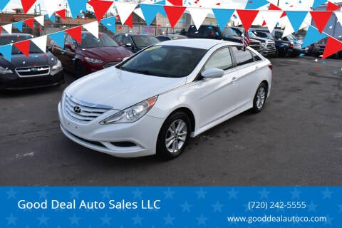 2014 Hyundai Sonata for sale at Good Deal Auto Sales LLC in Denver CO