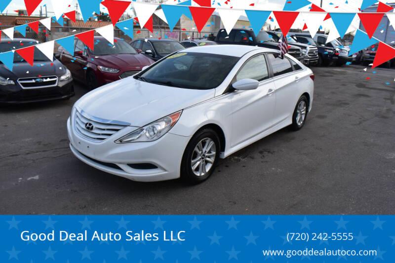 2014 Hyundai Sonata for sale at Good Deal Auto Sales LLC in Denver CO
