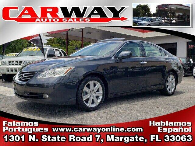 2007 Lexus ES 350 for sale at CARWAY Auto Sales in Margate FL