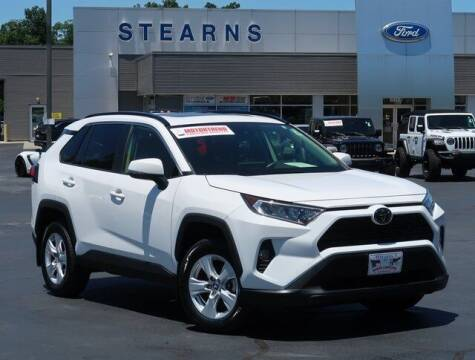 2019 Toyota RAV4 for sale at Stearns Ford in Burlington NC