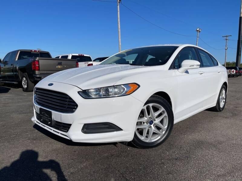 2014 Ford Fusion for sale at Superior Auto Mall of Chenoa in Chenoa IL