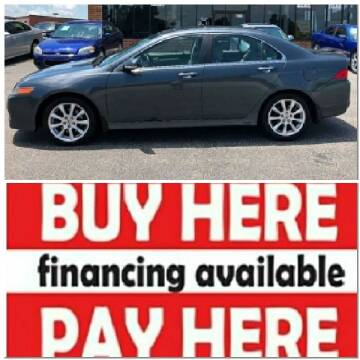 2006 Acura TSX for sale at BP Auto Finders in Durham NC