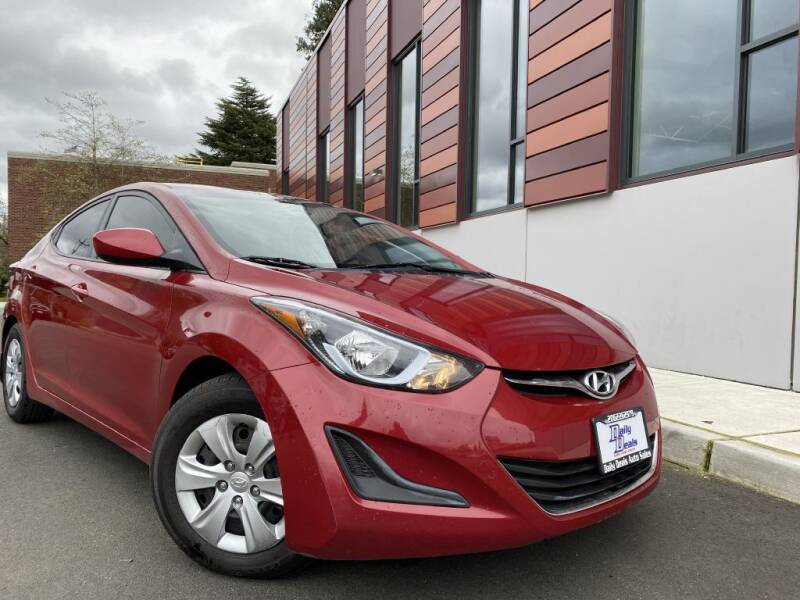2016 Hyundai Elantra for sale at DAILY DEALS AUTO SALES in Seattle WA