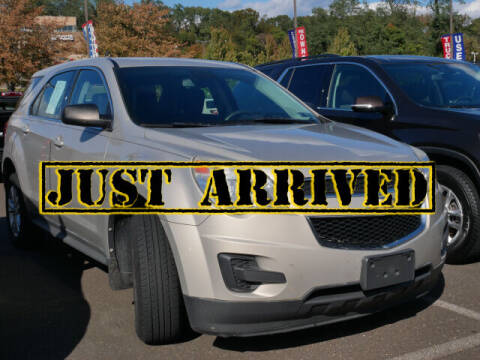 2012 Chevrolet Equinox for sale at BRYNER CHEVROLET in Jenkintown PA
