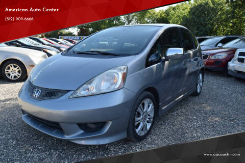 2009 Honda Fit for sale at American Auto Center in Austin TX
