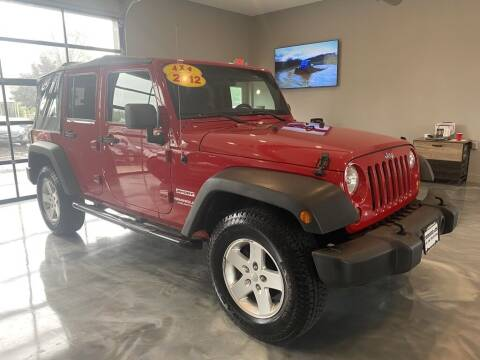 2012 Jeep Wrangler Unlimited for sale at Crossroads Car & Truck in Milford OH