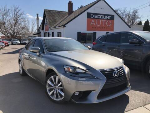 2016 Lexus IS 200t for sale at Discount Auto Brokers Inc. in Lehi UT