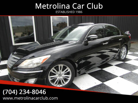 2013 Hyundai Genesis for sale at Metrolina Car Club in Matthews NC
