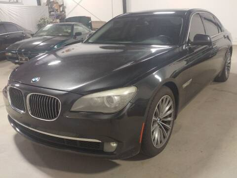 2011 BMW 7 Series for sale at MULTI GROUP AUTOMOTIVE in Doraville GA