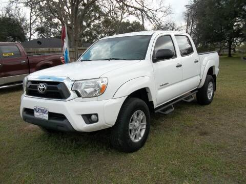 2013 Toyota Tacoma for sale at Hartman's Auto Sales in Victoria TX