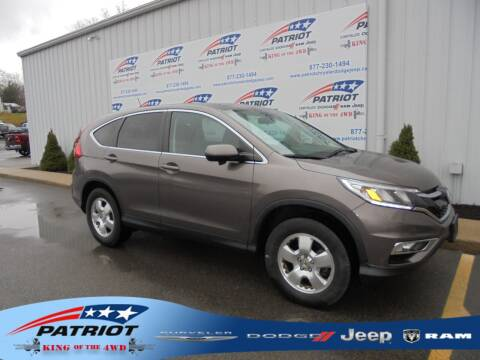 2016 Honda CR-V for sale at PATRIOT CHRYSLER DODGE JEEP RAM in Oakland MD