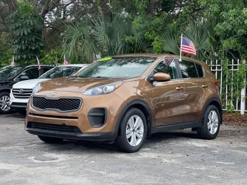 2017 Kia Sportage for sale at Bargain Auto Sales in West Palm Beach FL