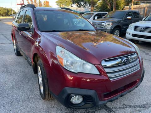 2014 Subaru Outback for sale at PRESTIGE AUTOPLEX LLC in Austin TX