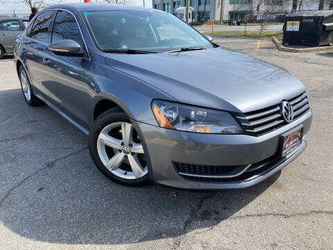 2012 Volkswagen Passat for sale at JerseyMotorsInc.com in Teterboro NJ