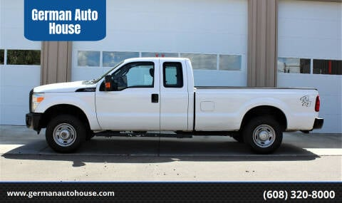 2015 Ford F-250 Super Duty for sale at German Auto House in Fitchburg WI