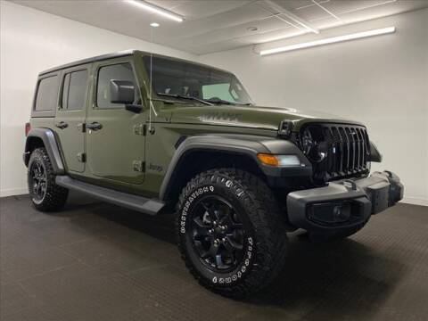 2021 Jeep Wrangler Unlimited for sale at Champagne Motor Car Company in Willimantic CT