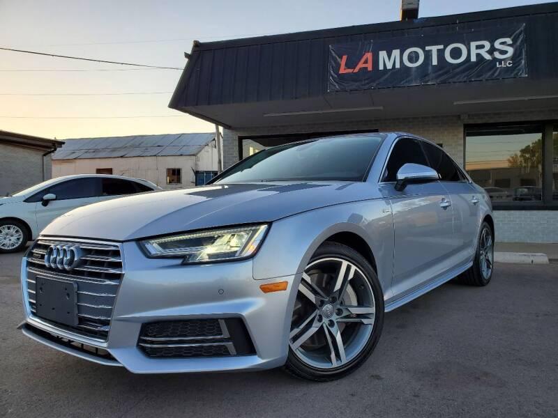 2018 Audi A4 for sale at LA Motors LLC in Denver CO